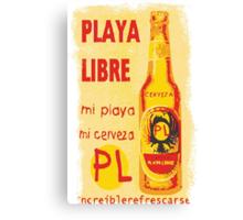 Cerveza Canvas Print
