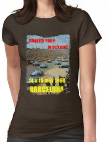 Vintage race cars Womens Fitted T-Shirt