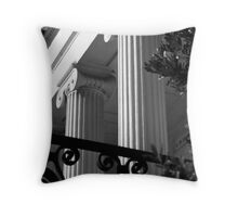 Hibernian Iron & Columns No. 7 Throw Pillow