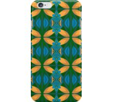 Green, Blue and Yellow Pattern iPhone Case/Skin