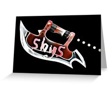 Scythe Five by Five Greeting Card