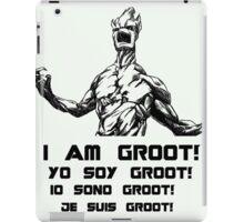 I am Groot! / Yo soy Groot! iPad Case/Skin