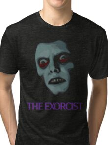 The Exorcist - Pazuzu Version Tri-blend T-Shirt