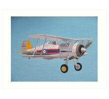 Gloster Gladiator Art Print