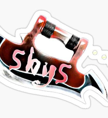 Scythe Five by Five Sticker