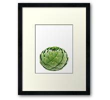 Globe Artichoke Framed Print