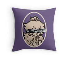 God save the princess Throw Pillow