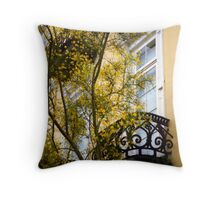 East Battery Floral Throw Pillow