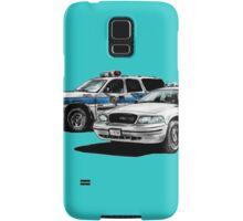 American Police Cars Samsung Galaxy Case/Skin
