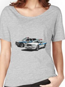 American Police Cars Women's Relaxed Fit T-Shirt