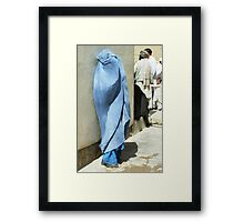 Rich woman (Afghanistan) Framed Print