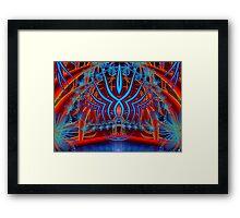 Lake Temple Framed Print