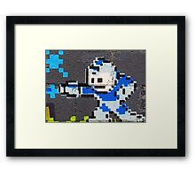 Stick Em Up Framed Print