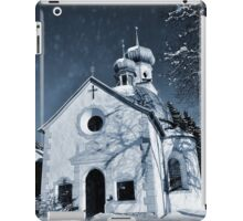 Mysterious chapel iPad Case/Skin