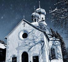 Mysterious chapel by Elzbieta Fazel
