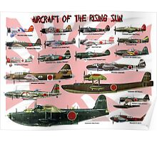 Aircraft of the Rising Sun Poster