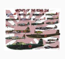Aircraft of the Rising Sun Kids Clothes
