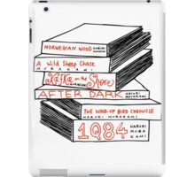 Haruki Murakami Book Stack iPad Case/Skin