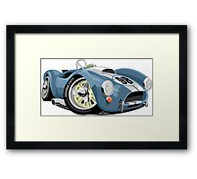 AC Cobra 289 blue Framed Print