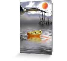 Silvery Day Greeting Card