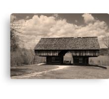 Cantilever Barn Canvas Print