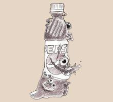 Evil Pepsi Bottle Shirt by MaKayla Songer