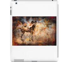 Wild Dog Texture iPad Case/Skin
