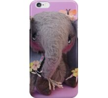 Emilia Elephant - Handmade bears from Teddy Bear Orphans iPhone Case/Skin