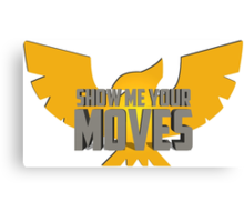 SHOW ME YOUR MOVES! - Captain Falcon Canvas Print