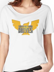 SHOW ME YOUR MOVES! - Captain Falcon Women's Relaxed Fit T-Shirt