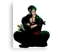 Zoro One Piece Canvas Print