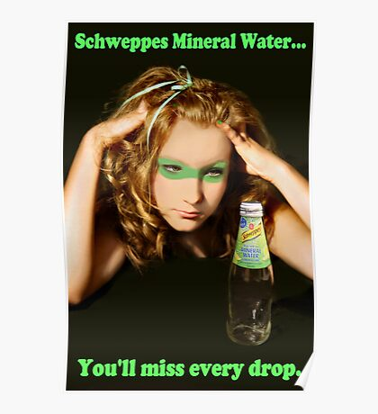 Rach - Schweppes Poster