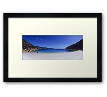 Larkin Cove Panorama Framed Print