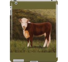 Hereford Heifer iPad Case/Skin