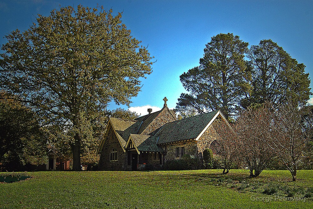 St Aiden's Church Exeter NSW by George Petrovsky