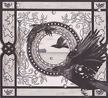 Ballad of Crows front cover by Esther Green