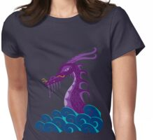 purple dragon Womens Fitted T-Shirt