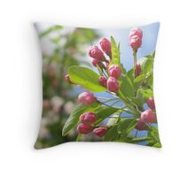 blossoms to be... Throw Pillow