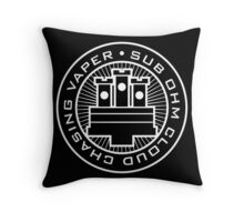 Sub Ohm Vaper Throw Pillow