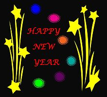 Happy New Year 2015 by CreativeEm