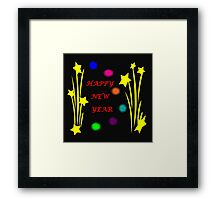 Happy New Year 2015 Framed Print