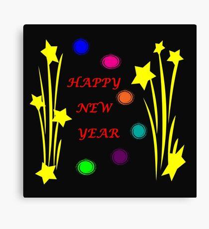 Happy New Year 2015 Canvas Print