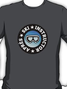 Après-Ski Instructor with Goggles T-Shirt