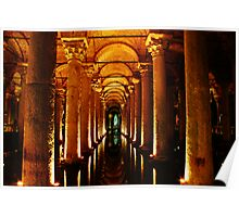 Basilica Cistern, Istanbul Poster
