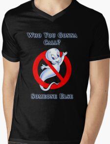 Who you gonna call? Mens V-Neck T-Shirt