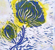 Blossoming Poppy by Gudrun Eckleben