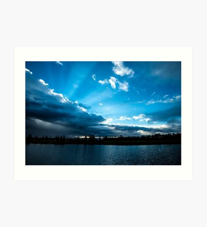 Rays of Sunshine After the Storm Art Print