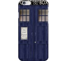 Doctor Who Police Box iPhone Case/Skin