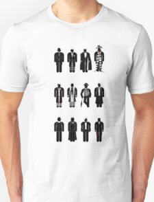 Timelord recognition guide - 12 Doctors T-Shirt