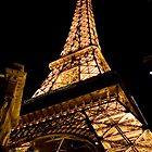 Eiffel Tower, Paris Hotel by Tim Ray